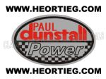 Paul Dunstall Power Tank and Fairing Transfer Decal DDUN13-3